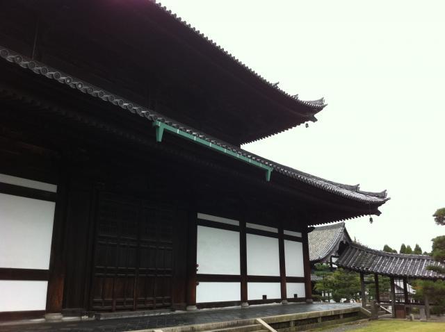 京都府東福寺の本殿
