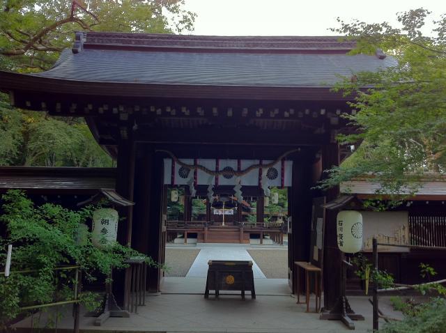 京都府梨木神社の山門