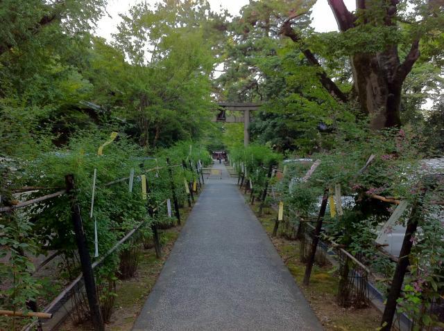梨木神社の庭園