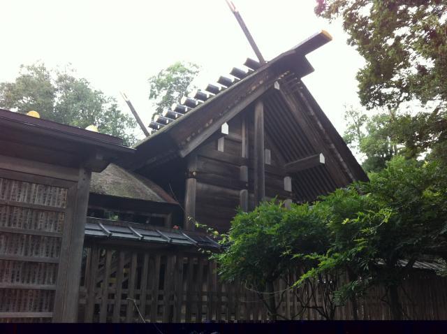 京都府籠神社の本殿