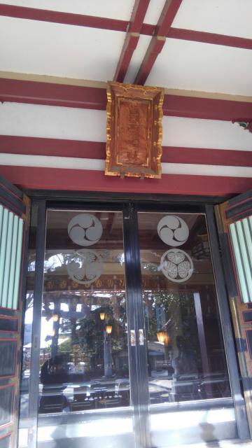 東京都葛西神社の本殿
