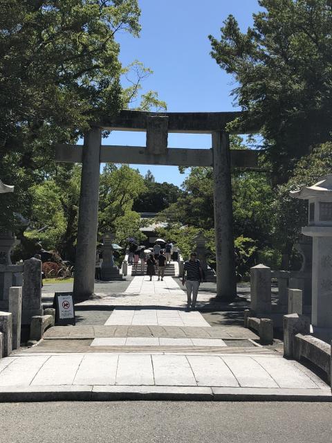 福岡県宗像大社の鳥居