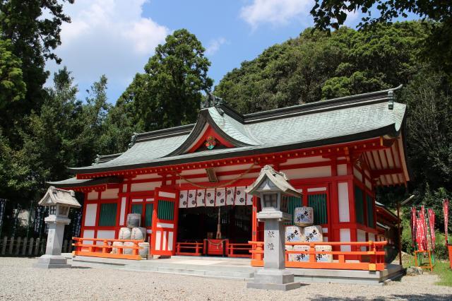 和歌山県阿須賀神社の本殿