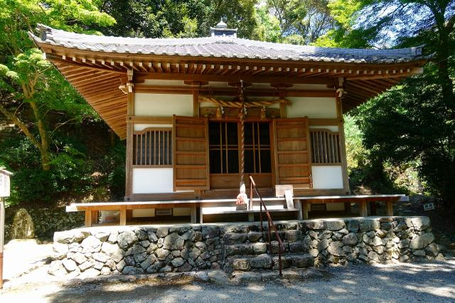 大阪府神峯山寺の本殿