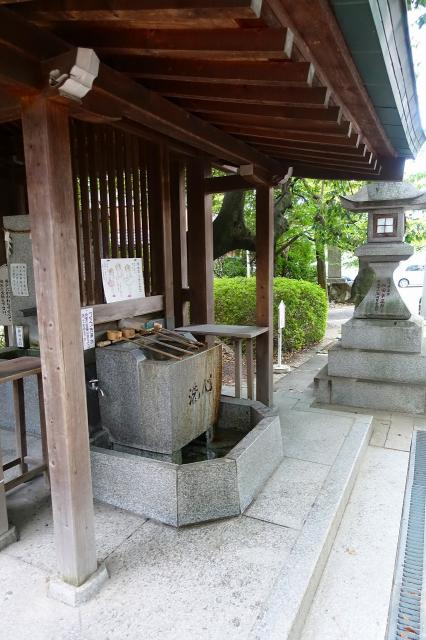 磯良神社の手水