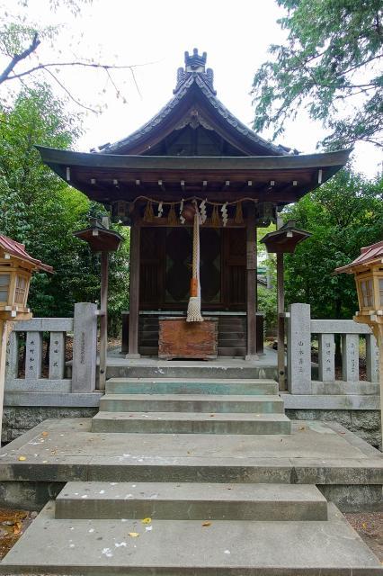 磯良神社の本殿