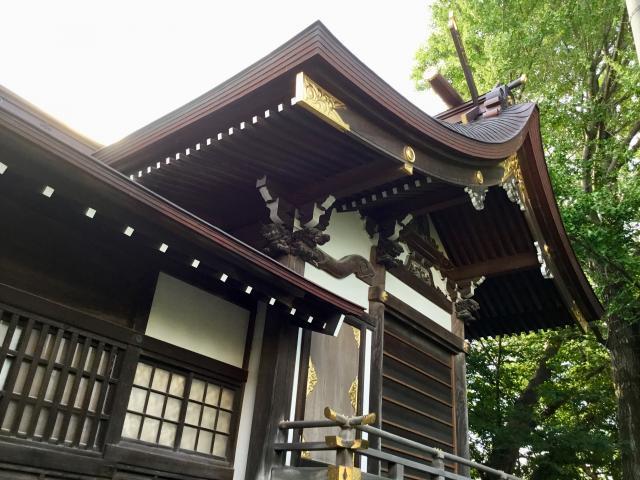 東京都北野神社の本殿
