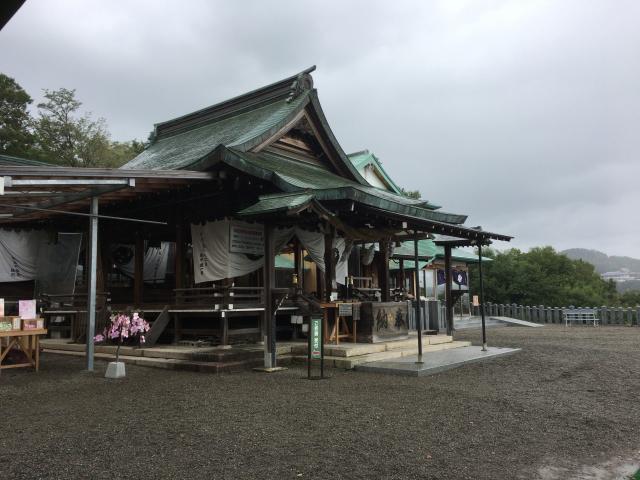 愛知県針綱神社の本殿