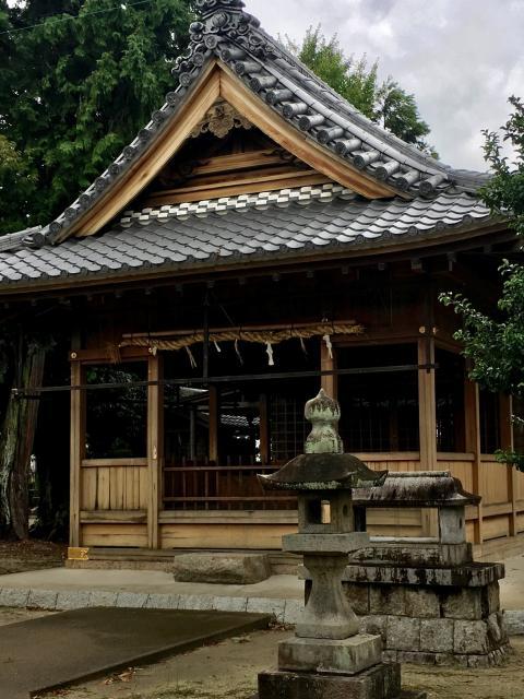 愛知県犬山神社の本殿