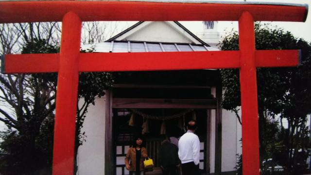 静岡県どんつく神社の鳥居