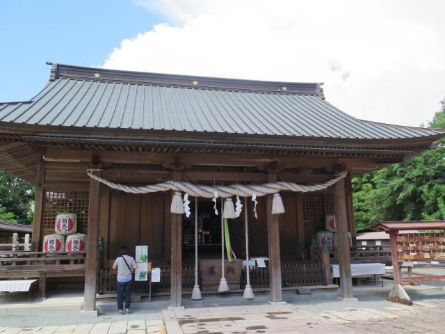 福岡県三柱神社の本殿