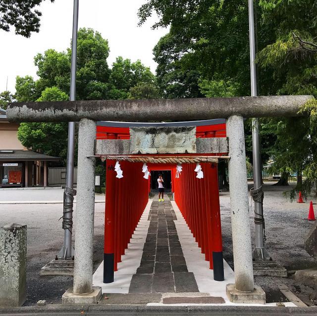 湯島天満宮の近くの神社お寺|箭弓稲荷神社