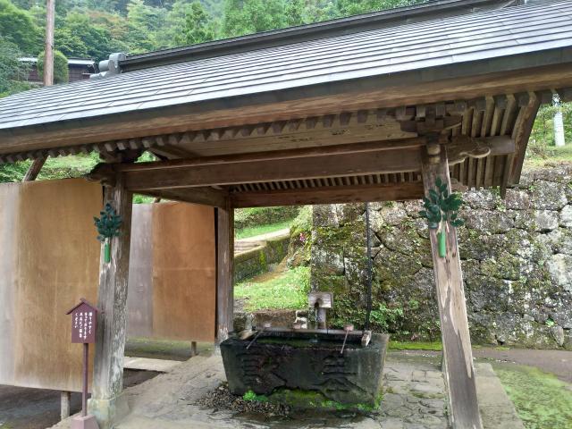 妙義神社(群馬県西松井田駅) - 手水舎の写真