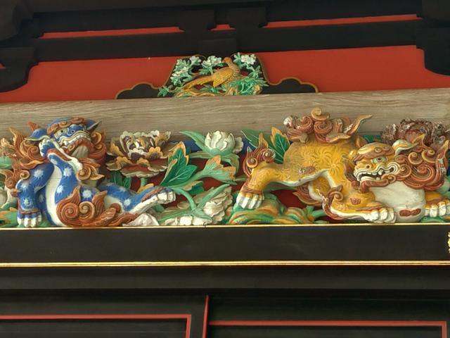 妙義神社(群馬県西松井田駅) - 芸術の写真