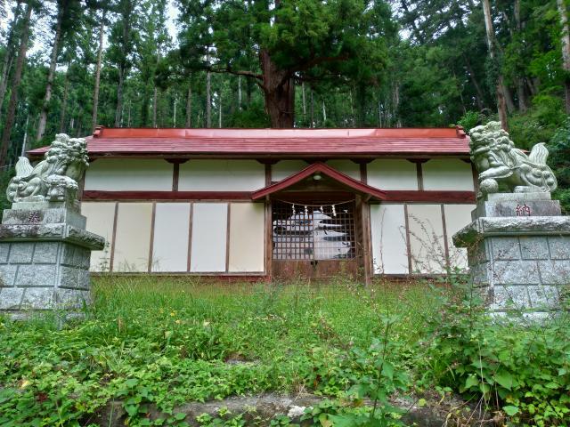 吾妻神社の本殿