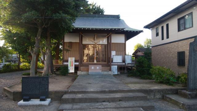 茨城県竃神社の本殿