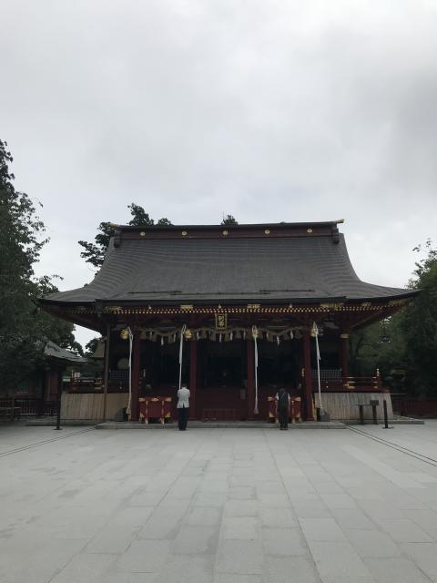 東京都新橋鹽竃神社の本殿