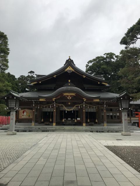 竹駒神社の本殿