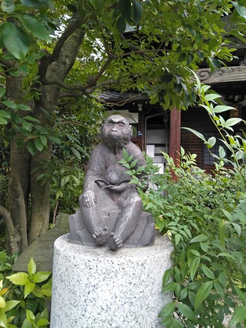 栄閑院の狛犬