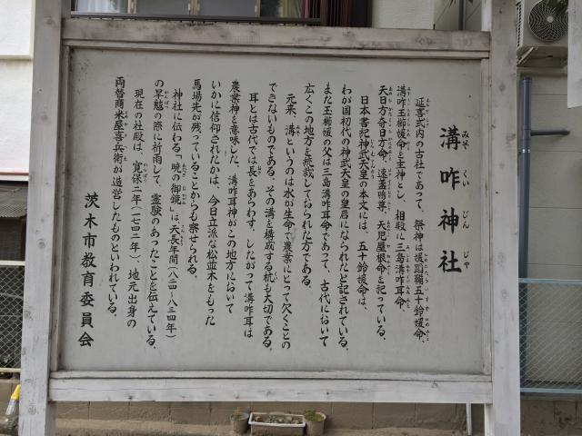 溝咋神社の歴史