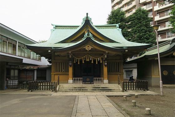 東京都氷川神社の本殿