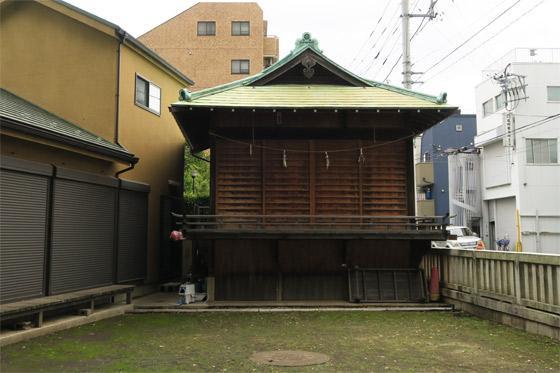 東京都氷川神社の写真