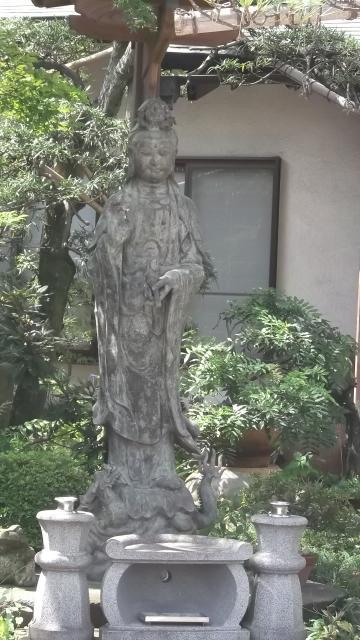 埼玉県東陽寺の仏像