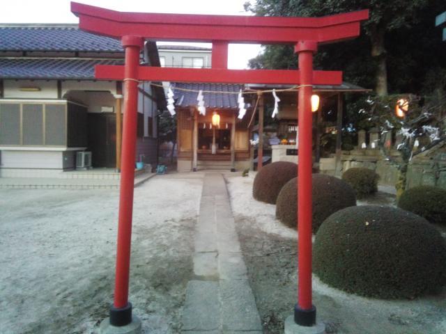 埼玉県内牧鷲香取神社の鳥居
