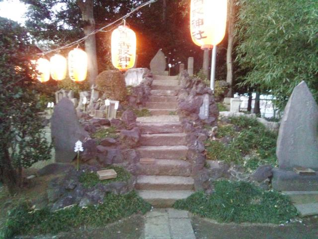 内牧鷲香取神社の建物その他