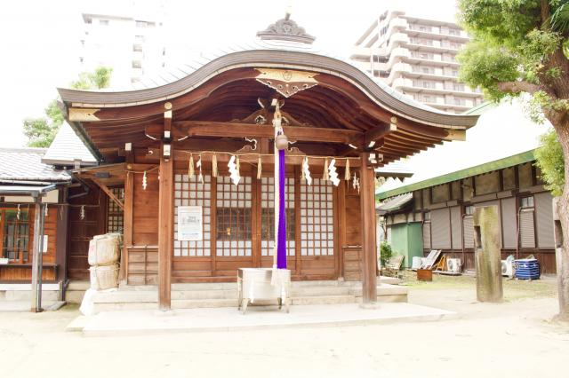 大阪府宿院頓宮の本殿