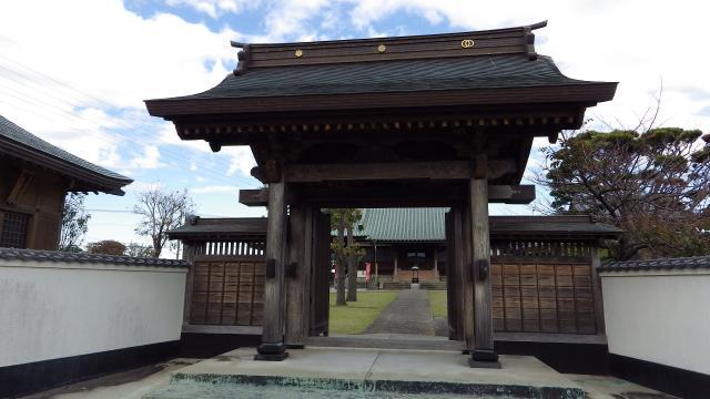 埼玉県延命院の山門