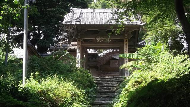 埼玉県慈光寺の山門