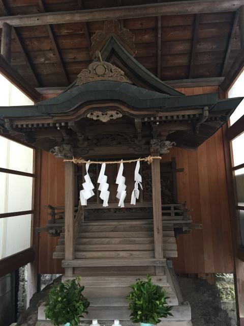 中海岸神社の本殿