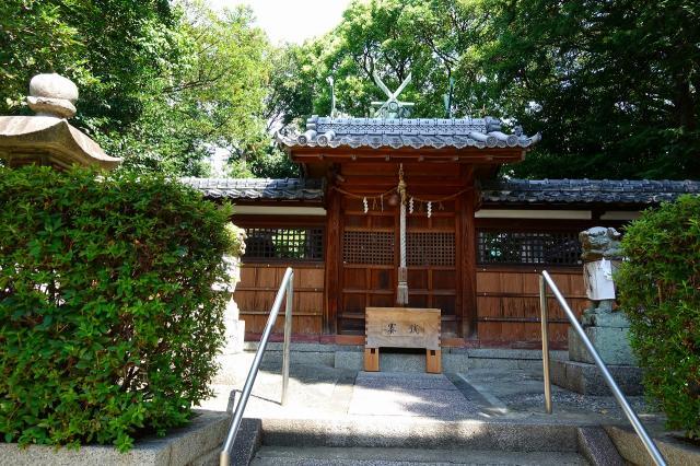 大阪府野田春日神社の本殿