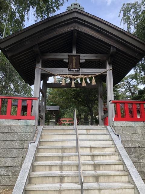 榊山稲荷神社(岩手県上盛岡駅) - 山門・神門の写真