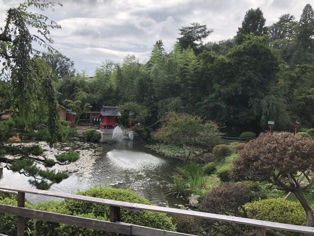 榊山稲荷神社(岩手県上盛岡駅) - 庭園の写真
