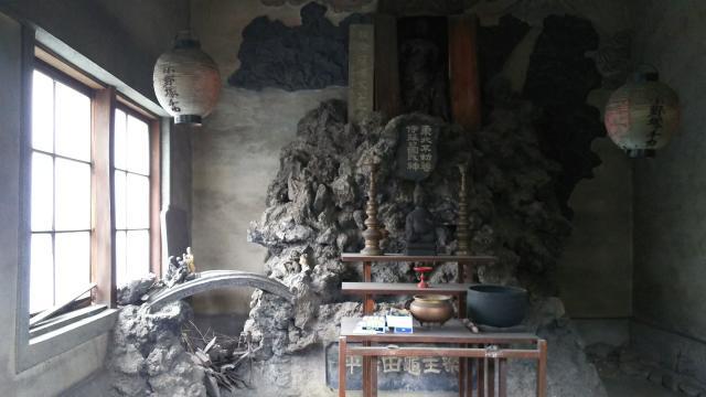 栃木県東北不動尊の本殿