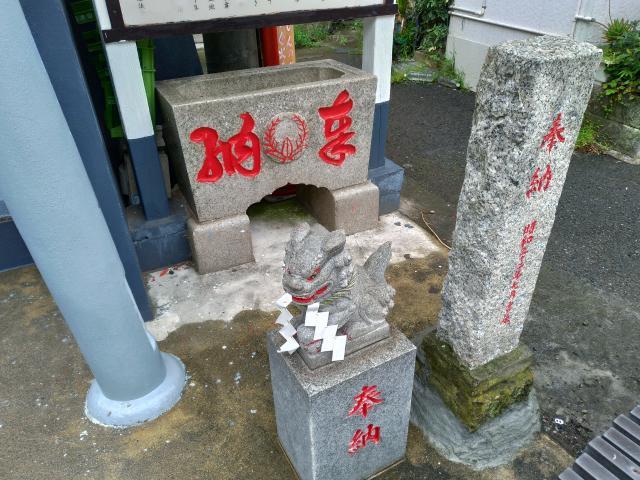 本宮神社の狛犬