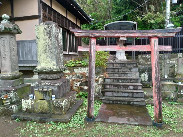 大乗寺(神奈川県三崎口駅) - 鳥居の写真