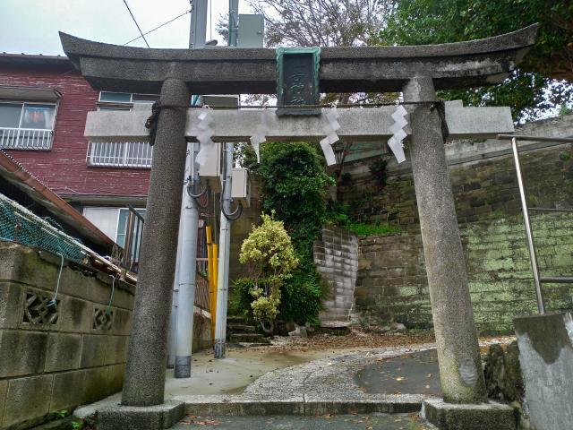 住吉神社(神奈川県三崎口駅) - 鳥居の写真