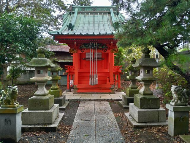 神奈川県住吉神社の本殿