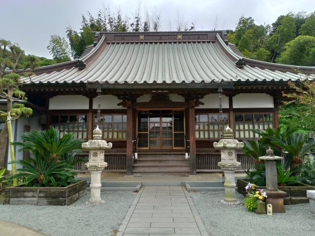 實相寺の本殿