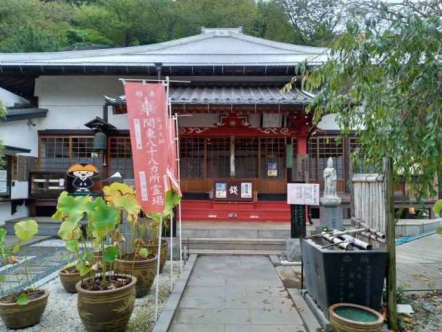 神奈川県妙音寺の本殿