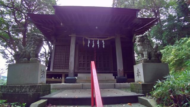 神奈川県熊野神社の本殿
