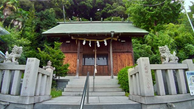 近殿神社の本殿