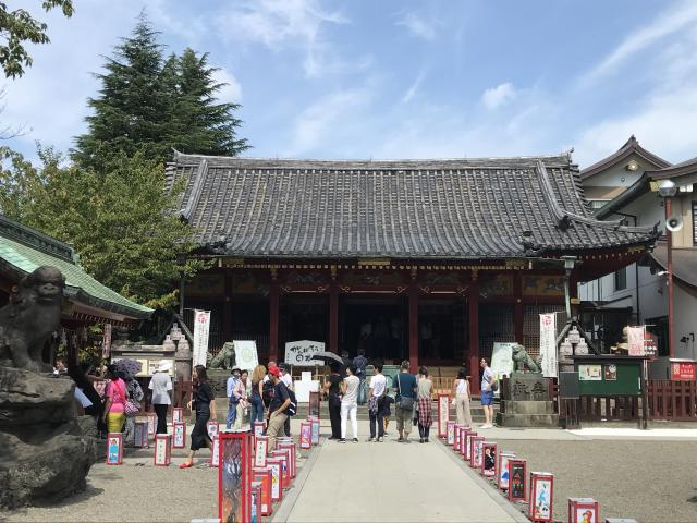 東京都浅草神社の本殿