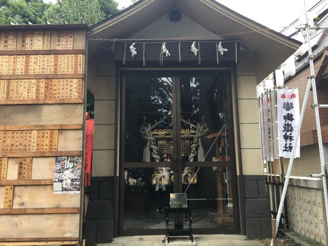 池袋御嶽神社(東京都要町駅) - お祭りの写真