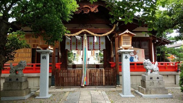 大阪府皇大神宮の本殿