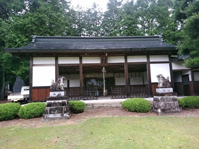 長野県松川神社の本殿