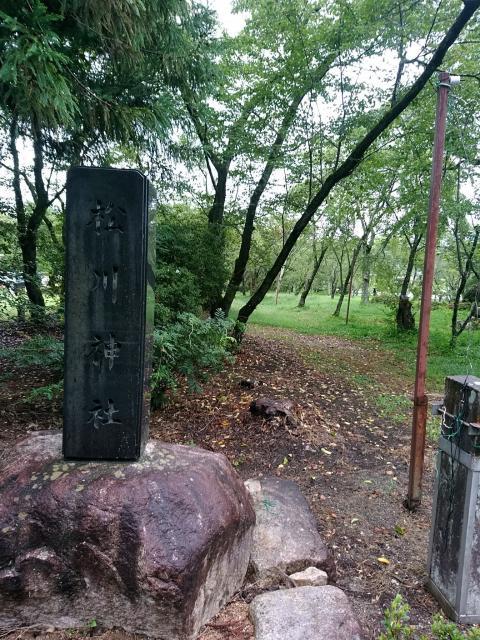 長野県松川神社の建物その他